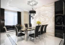 contemporary formal dining room trellischicago