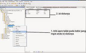 query membuat tabel di sql membuat database dan table di sql server 2005 rozidotnet