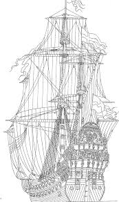 coloring page sailing ships tall ships coloring pinterest