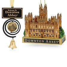 downton led porcelain castle with arch ornament shop pbs org