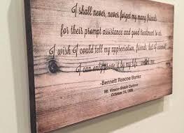 personalized wood wall personalized walnut wood wall