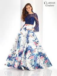 floral dresses clarisse prom dress 4977 promgirl net