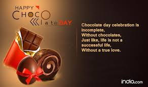 chocolate s day chocolate day 2017 wishes happy chocolate day quotes sms