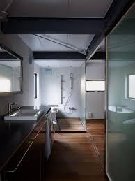 modern steel framed home in super minimalist interior design