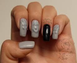 spooky ghost manicure u2013 fabulous von raptor