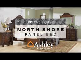 North Shore King Panel Bed Ashley Furniture HomeStore - North shore poster bedroom set price