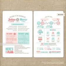 Wedding Program Dimensions Clean Cut Bliss Wedding Program Customize To Match Your Wedding