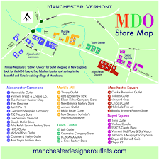 Tanger Outlet Map Store Map