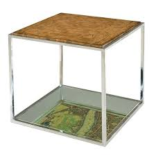 Cube Side Table Hw Home Ash Cube Side Table