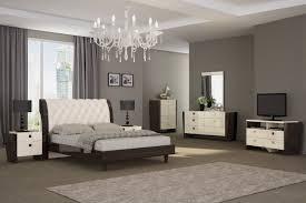 global united furniture enterprises paris bedroom set beige wenge