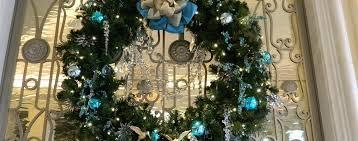 Waldorf Christmas Decorations Holidays At Waldorf Waldorf Astoria Orlando