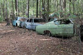 auto junkyard texas old car city u s a is full of abandoned muscle cars and classics