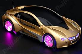 remote control car lights remote control roadster car with led light golden fc 41886