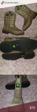 s deere boots sale leather deere boots youth 3 5 wore 1 hurley shoe