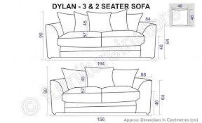 3 Seater And 2 Seater Sofa Jumbo Cord Black U0026 Grey Fabric Sofas 3 2 Seater Sofa Dylan
