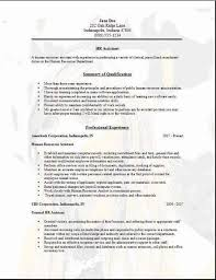 Hr Assistant Resume Samples by Human Resource Assistant Resume Automotive