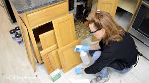 Cleaning Kitchen Cabinets by Step By Step Guide How To Paint Kitchen Cabinets H20bungalow