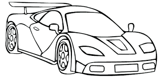 Race Car Coloring Page Printable Driving A Pages For Kids Cars Car Coloring Pages Printable For Free