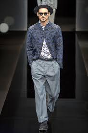 giorgio armani spring 2017 menswear fashion show giorgio armani