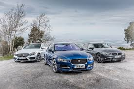 jaguar xe vs bmw 4 series vs mercedes c class triple test review