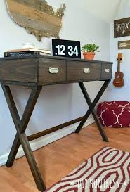 Diy Home Office Desk Plans Diy Office Desk How To Build A Desk With Drawers This Modern And