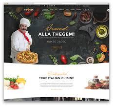 food templates free download 30 best wordpress restaurant themes 2017 colorlib thegem restaurant wordpress template