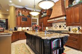Mediterranean Tiles Kitchen - charleston alternative to granite kitchen beach style with shaker