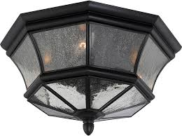 Outside Ceiling Light Fixtures Quoizel Ny1615k Newbury Mystic Black Outdoor Ceiling Light Fixture
