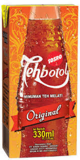 Teh Kotak Sosro 330ml teh botol kotak sosro 330 ml makanan minuman minuman tidak