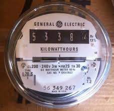 ge electric watthour meter kwh type i70s i 70s ez read