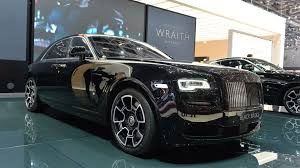 roll royce ghost all black rolls royce ghost wraith gain bespoke black badge editions