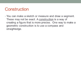 chapter measuring and constructing segments ppt video online