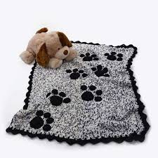 crochet home decor free patterns craft passions puppy paw prints throw free crochet pattern