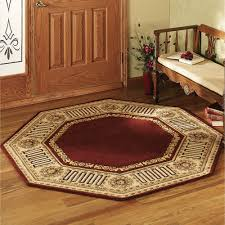 greek key octagon rugs