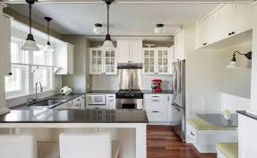 Kitchen With Wainscoting Glass Kitchen Craftsman With Stainless Steel Stove Backsplash