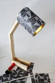 diy desk lamp with a can 11 jpg