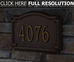 Lighted House Number Sign Decorative House Numbers Best Decoration Ideas For You