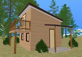 shed roof house designs the cozy cube tiny house cozy home plans