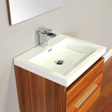 accanto 24 inch modern white single sink bathroom vanity