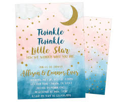 twinkle twinkle baby shower invitations twinkle twinkle gender neutral baby shower invitations party