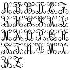 monogram letters large wood monogram letters wall wayfair
