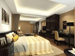 false ceiling designs living room cozy brown leather single seater