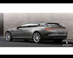 custom aston martin rapide martin rapide bertone shooting break 2013