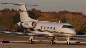 gulfstream ii landing ptk ex elvis jet n36pn hd youtube