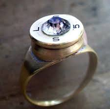 bullet wedding rings bullet shell ring 7 steps with pictures