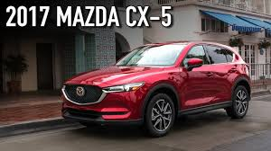 mazda suv range new features on the 2017 mazda cx 5 autoline feature youtube