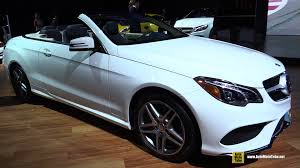 mercedes convertible 2015 mercedes benz e class e550 cabriolet exterior and interior