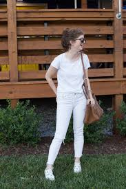 all white casual casual all white with floral espadrilles