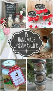 15 handmade christmas gift ideas several cute and easy handmade