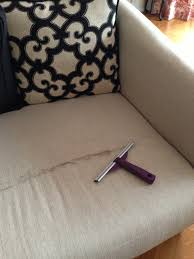 use a squeegee to remove pet hair from furniture it u0027s impossible